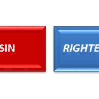 SIN vs RIGHTEOUSNESS? RICH vs POOR?